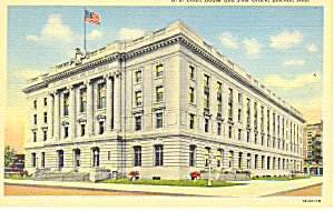 Lincoln  NE US Court House Postcard p15539a (Image1)