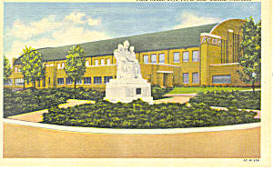 Boys Town,NE, Field House Postcard (Image1)