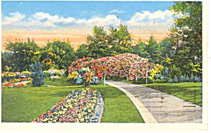 Omaha NE Hanscom Park Postcard p15558 1946 (Image1)
