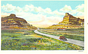 Mitchell Pass,Scotts Bluff  NE, Postcard (Image1)