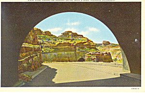 Tunnel on Summit Drive,Scotts Bluff  NE, Postcard (Image1)