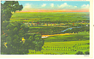 View from Scotts Bluff  NE, Postcard (Image1)