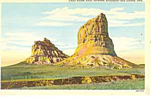 Courthouse Rock,  NE, Postcard (Image1)