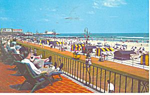 Marlborough Blenheim Atlantic City NJ Postcard p15606 1961 (Image1)