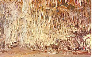 Kings Palace Carlsbad Caverns NM  Postcard p15646 1966 (Image1)