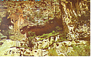 Bandelier National Monument NM  Postcard (Image1)