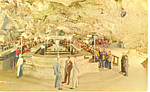 Lunch Room,Carlsbad Caverns, NM  Postcard 1969 (Image1)