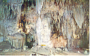 Siamese Twins,Carlsbad Caverns, NM  Postcard (Image1)