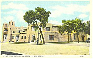 Mexico Art Museum Santa Fe NM  Postcard p15695 (Image1)