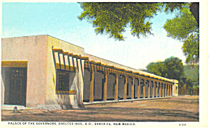 Palace of Governors Santa Fe  NM  Postcard p15705 (Image1)