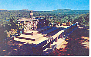 Altar Rail, Cathedral of the Pines ,NH Postcard (Image1)