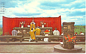 High Mass,Cathedral of the Pines ,Rindge,NH Postcard (Image1)