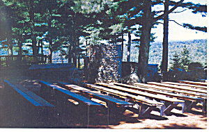 Pulpit,Cathedral of the Pines ,Rindge,NH Postcard (Image1)
