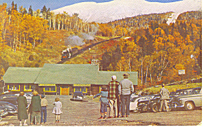 Mt Washington Nh Cog Railway Postcard P15748