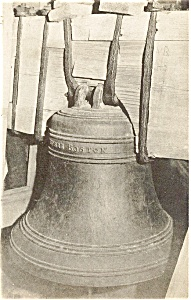 Barnstable MA Revere Bell Postcard (Image1)
