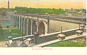 Highbridge New York City  NY  Postcard p15805 (Image1)