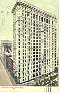 Empire Building New York City NY  Postcard p15825 1907 (Image1)