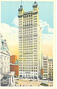 Park Row Bldg, New York City, NY  Postcard (Image1)