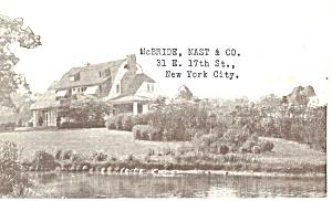 House and Garden Magazine Advert  Postcard p15846 (Image1)