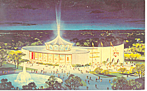 Vatican Pavilion New York World s Fair  Postcard p15851 (Image1)