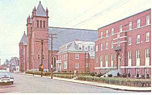 St Patrick S Rectory And Church Nashua Nh Postcard P15859