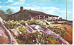 View From Summit Mt Cranmore Nh Postcard P15895