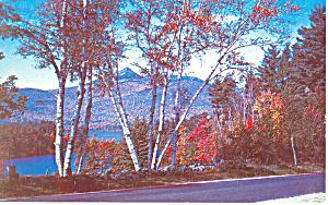 Mt Chocorua  NH and Lake Postcard p15907 (Image1)