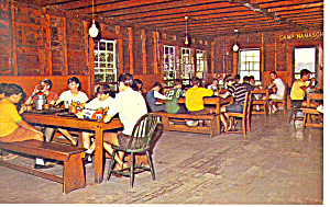 Camp Notre Dame Spofford Nh Postcard P15911