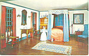 Bedroom,NH Historical Society, Concord Postcard (Image1)