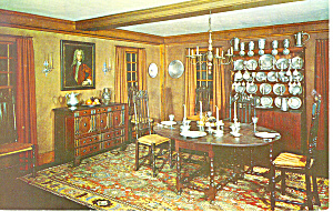 Dining Room Nh Historical Society Concord Nh Postcard P15952