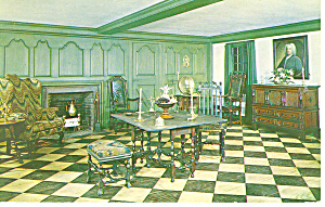 Parlor,NH Historical Society, Concord Postcard (Image1)