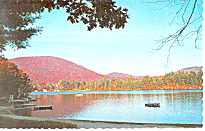 Forest Lake Winchester Nh Postcard P15975 1971