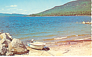Mooselookmeguntic Lake Bald Mountain NH Postcard p15985 (Image1)