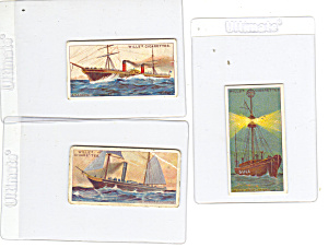 Will s Cigarette Cards Ships Lot 3  p16003 (Image1)