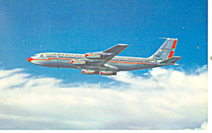 Airline Issue Postcard American Boeing 707 Postcard p16010 (Image1)