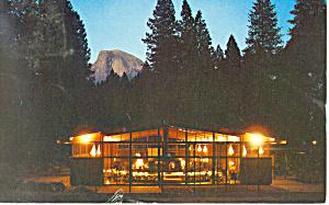 Yosemite Lodge, CA  Postcard 1963 (Image1)