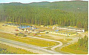 Northern Gateway Motor Hotel Wawa Ontario Postcard  p16066 (Image1)