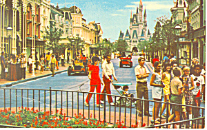 Disney World, Florida Main Street USA Postcard (Image1)