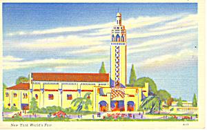 New York World s Fair 1939 Florida Bldg Postcard p16077a (Image1)