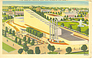 New York World s Fair 1939 Hall Fashion Postcard p16078 (Image1)
