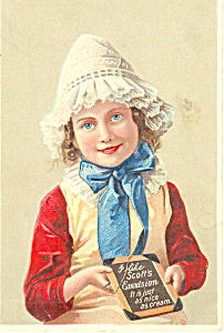 Scott s Emulsion Cod Liver Oil Trade Card p16121 (Image1)