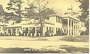 Towne Lyne House Lynnfield MA  Postcard p16163 (Image1)