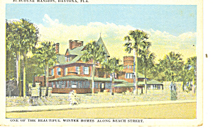 Burcoyne Mansion Daytona Fl Postcard P16182