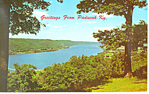 Greetings From Paducah Ky Postcard P16191