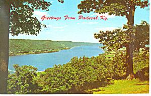 Greetings from Paducah KY  Postcard p16191 (Image1)