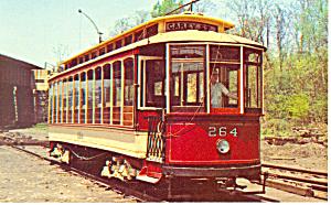 Baltimores Streetcar Museum  Postcard (Image1)