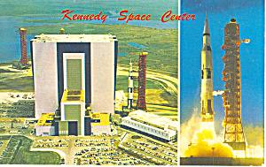 Kennedy Space Center, Daytona Beach, FL Postcard p16230 (Image1)