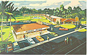 Quality Courts Motel Silver Springs Fl Postcard P16235