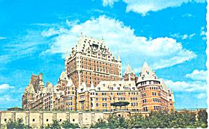 Le Chateau Frontenac Quebec Postcard p16248 1981 (Image1)