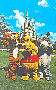 Fantasyland  Disney World FL  Postcard p16265 (Image1)